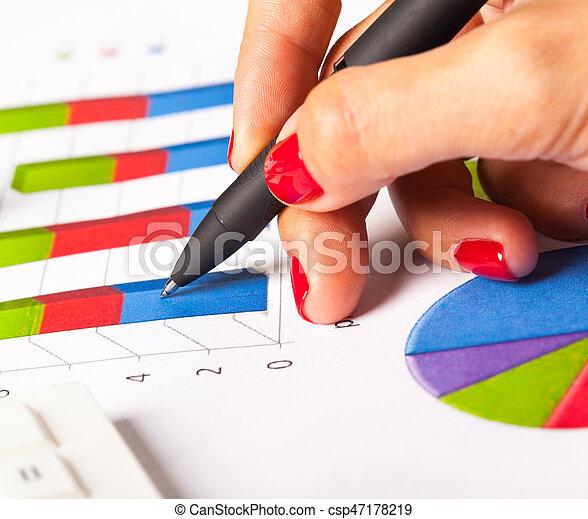Chart, Business - csp47178219