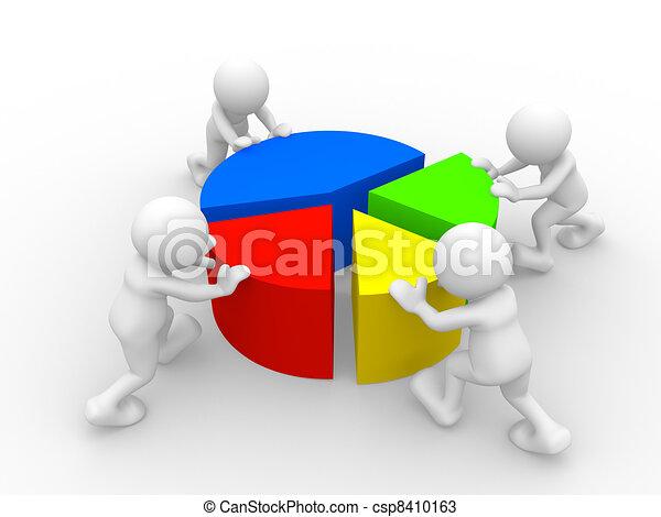 Chart financial - csp8410163