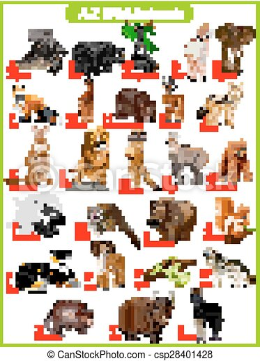 Lessons that are related to list of animals from A to Z