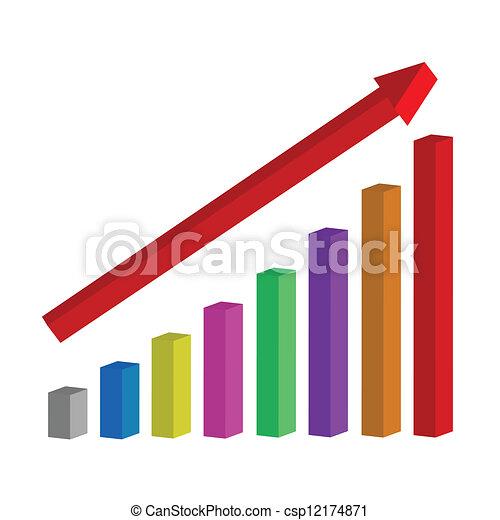 Chart of success - csp12174871