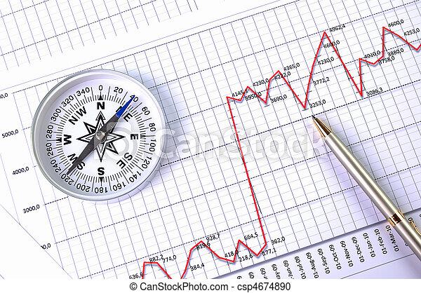 charts., schaubilder - csp4674890