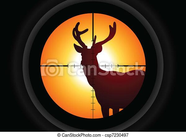 chasse - csp7230497