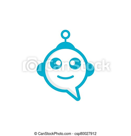 Chat bot icon - csp80027912