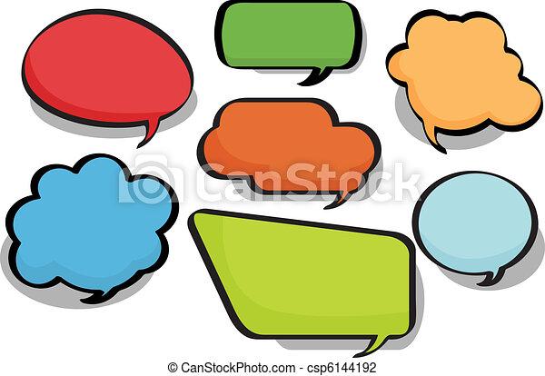 Chat Bubbles - csp6144192
