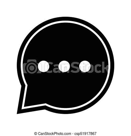 chat icon in speech bubble vector iconic design chat clip art rh canstockphoto com bubble vector ai bubble vector png