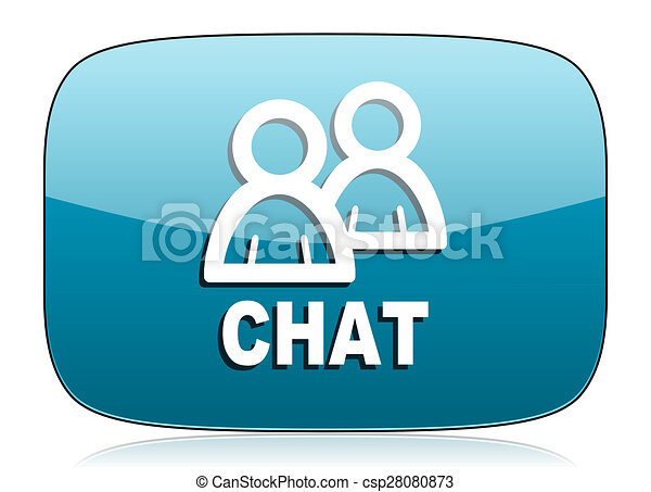 chat icon - csp28080873