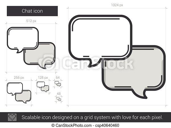 chat line vector clipart eps images 17 432 chat line clip art