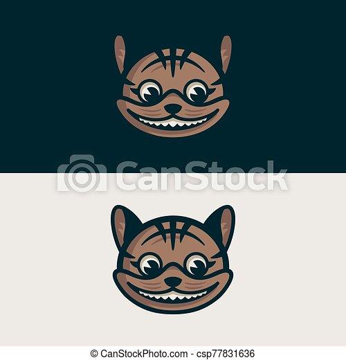 chat, nuit, jour, cheshire - csp77831636