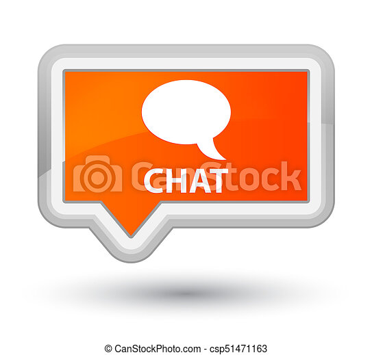 Chat prime orange banner button - csp51471163