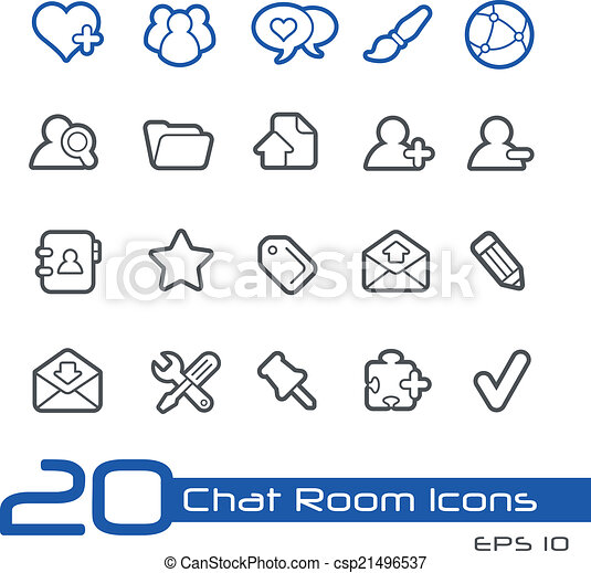 Chat Room Stock Illustration Images 1777 Chat Room Illustrations