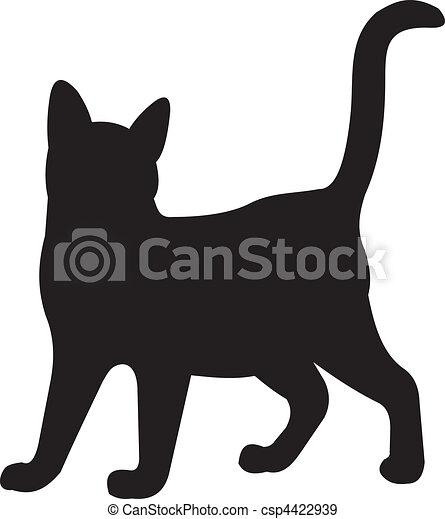 chat, vecteur - csp4422939