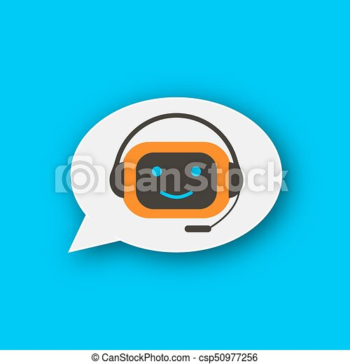 Chatbot concept icon - csp50977256