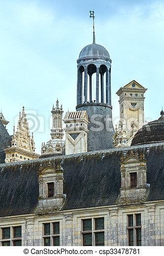 Chateau Chambord  (France). - csp33478781