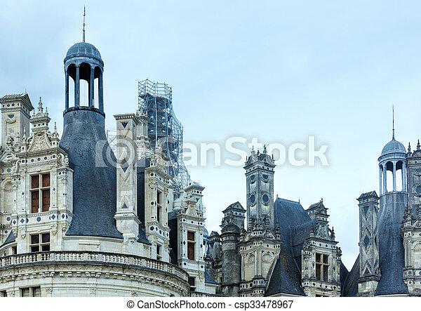 Chateau Chambord  (France). - csp33478967