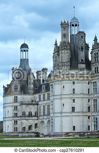 Chateau Chambord  (France). - csp27610291