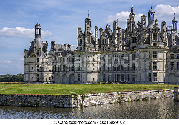 Chateau Chambord - Liore Valley - France - csp15929102