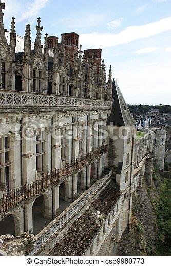 Chateau de Amboise. Loire. France - csp9980773