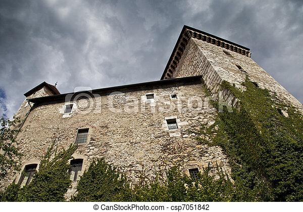 Chateau de Annecy, France - csp7051842