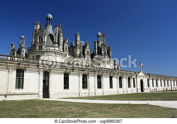 Chateau de Chambord. Loire. France - csp9980367