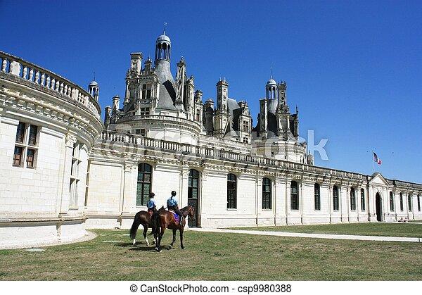 Chateau de Chambord. Loire. France - csp9980388