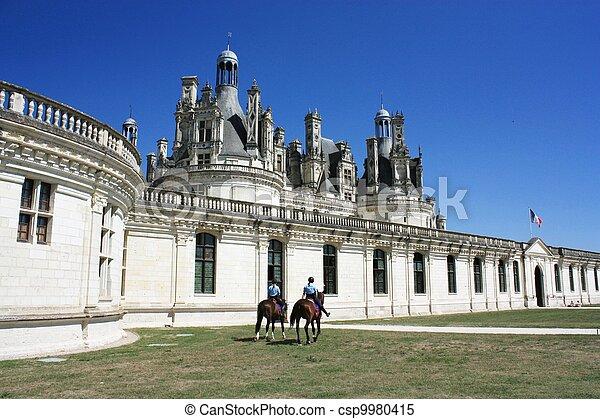 Chateau de Chambord. Loire. France - csp9980415