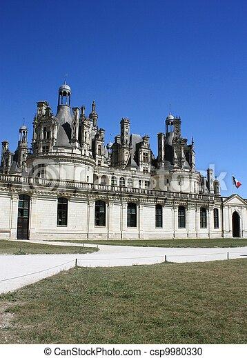 Chateau de Chambord. Loire. France - csp9980330