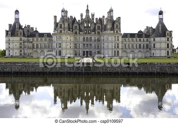 Chateau de chambord - csp0109597