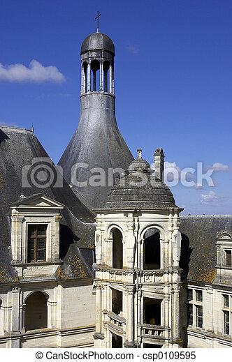 Chateau de chambord - csp0109595