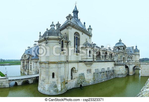 Chateau de Chantilly (France).  - csp23323371