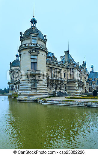 Chateau de Chantilly (France).  - csp25382226