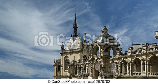 Chateau de Chantilly, France - csp12678702
