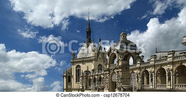 Chateau de Chantilly, France - csp12678704