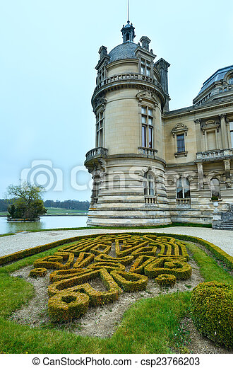 Chateau de Chantilly (France).  - csp23766203