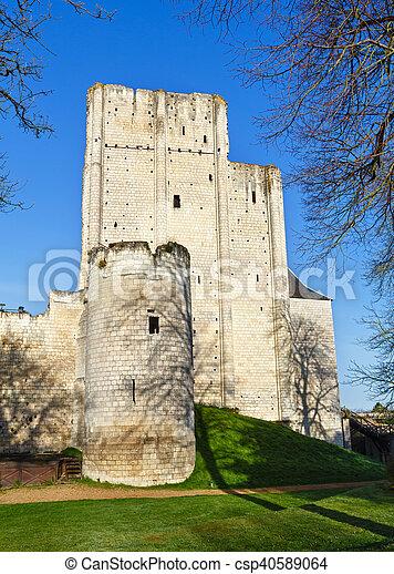 Chateau de Loches, France - csp40589064
