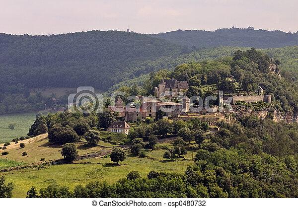 Chateau de Marqueyssac, France - csp0480732