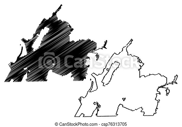 Chattanooga City (United States cities, United States of America, usa city) map vector illustration, scribble sketch City of Chattanooga map - csp76313705