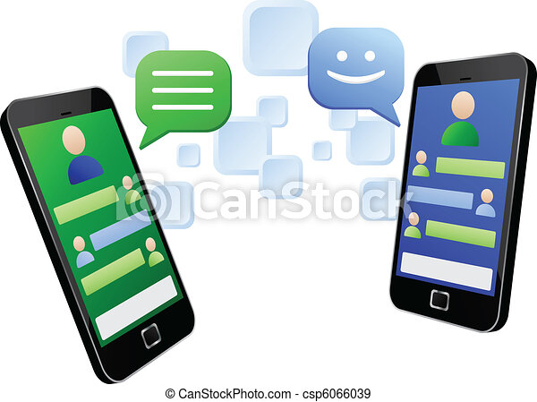 Chatting with touch screen mobiles - csp6066039