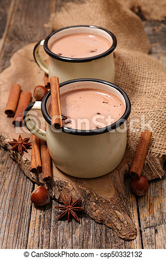 chaud, épices, chocolat - csp50332132
