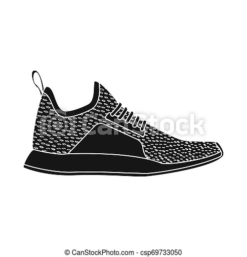 chaussure, ensemble, illustration., bitmap, conception, chaussures, pied, logo., stockage - csp69733050