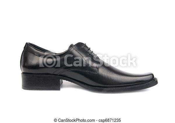 chaussure noire, homme - csp6871235