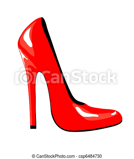 chaussure, rouges - csp6484730
