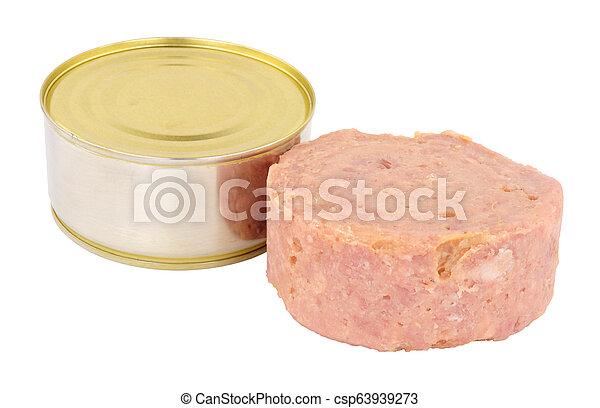 Cheap Canned Ham - csp63939273