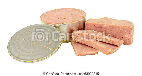 Cheap Canned Ham - csp63939315