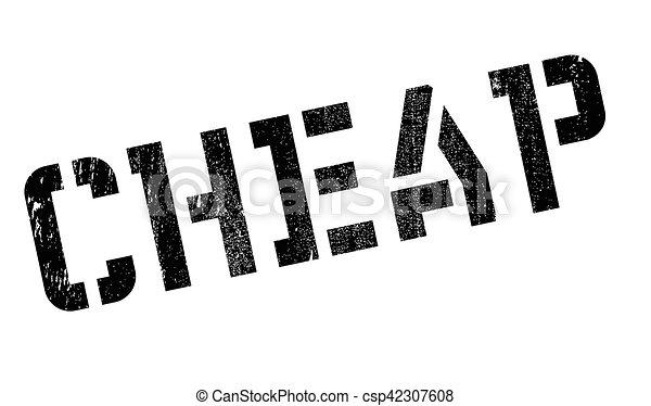 Cheap stamp - csp42307608