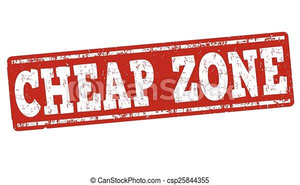 Cheap zone stamp - csp25844355