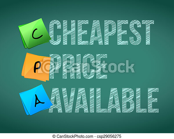 cheapest price available post memo chalkboard sign - csp29056275