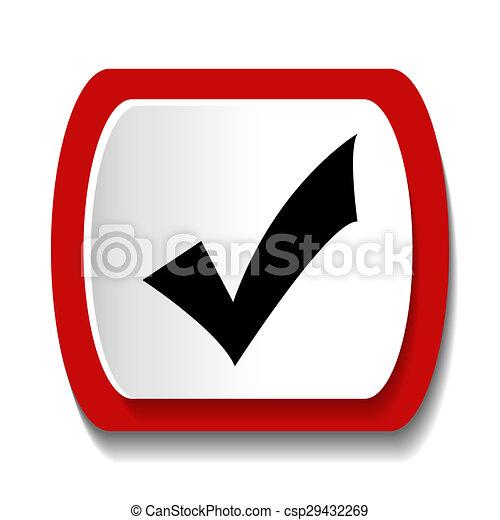 Check Button - csp29432269