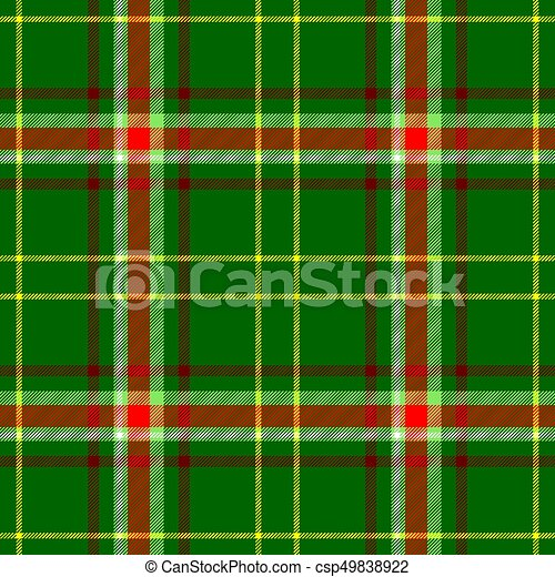 c0a35078a3b63 check diamond tartan plaid fabric seamless pattern texture background -  green, red, yellow and white color