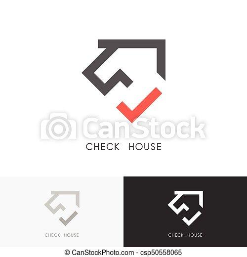 Check house logo - csp50558065