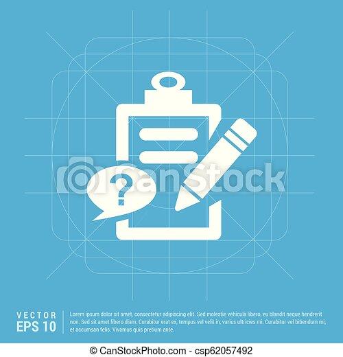 Check list ok Icon - csp62057492